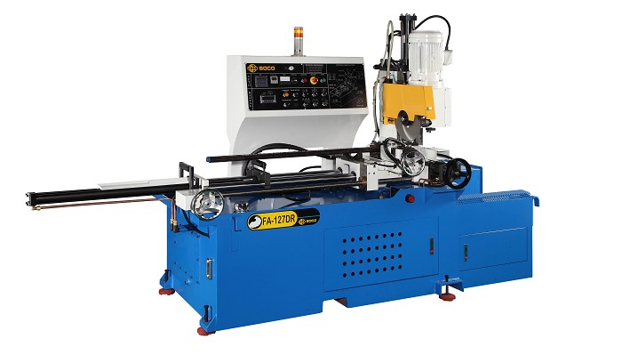 Soco's Steel Tube Cutting OD 127mm with Digital Display