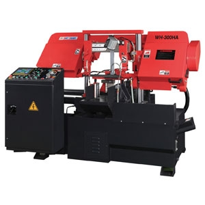"""Way Train Double Column Fully Auto Band Saw 10"""" WH-300HA"""